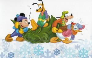 Kerstkaart van Ramona Aukes, Max en Winnie